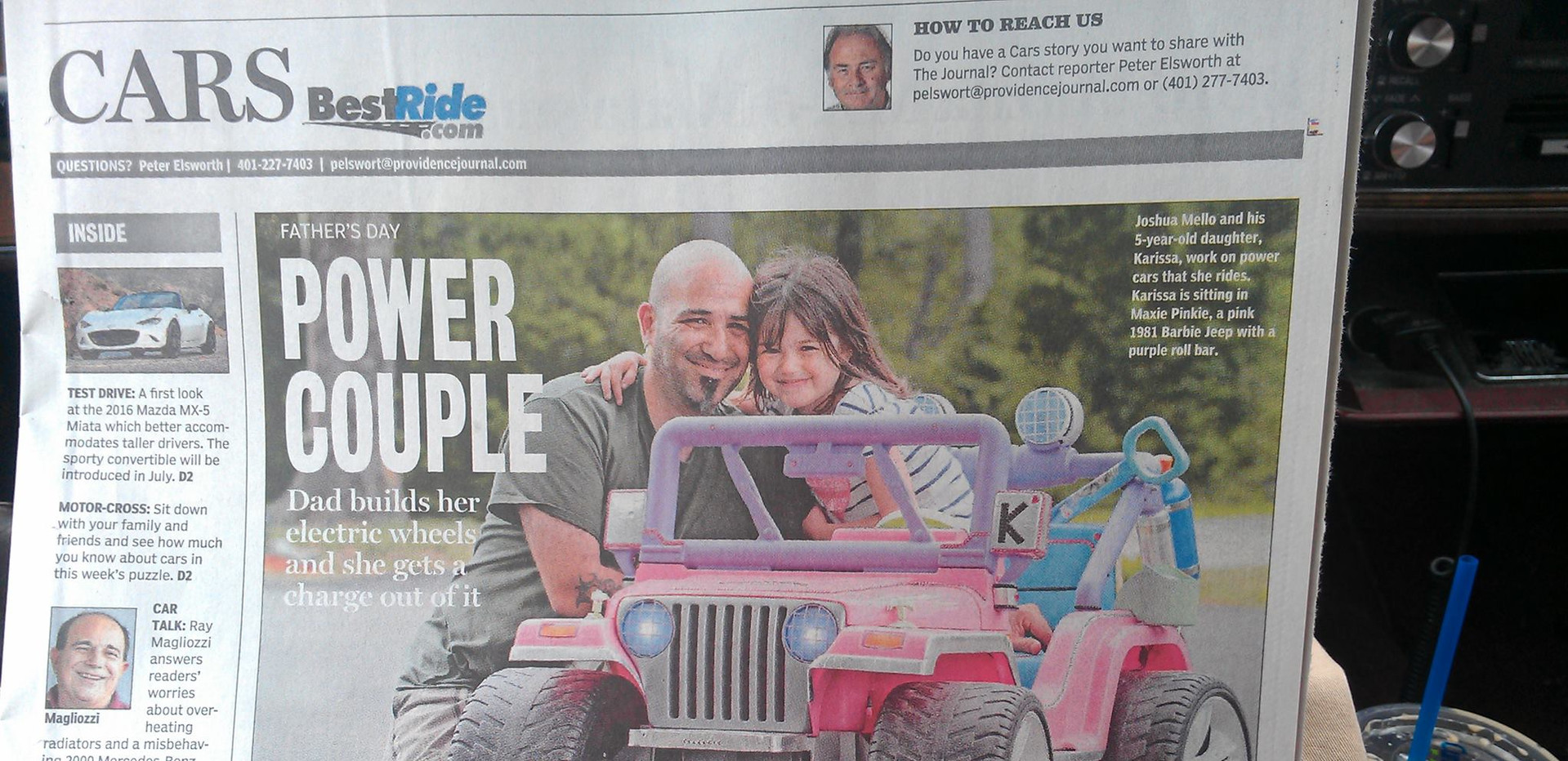 Father's Day 2015 Providence Journal