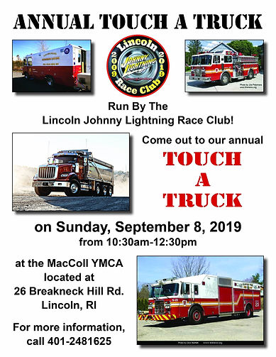 LJLRC Touch a Truck Flyer