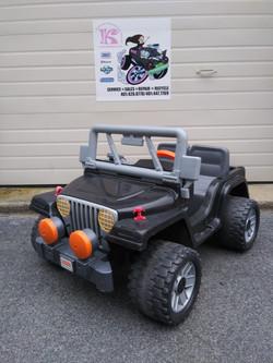 12v Power Wheels Black Jeep