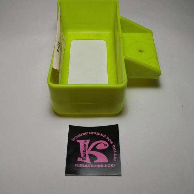 B2489-2149 Water Bottle Holder Lime Green