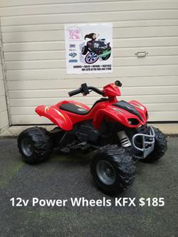 12v Power Wheels KFX