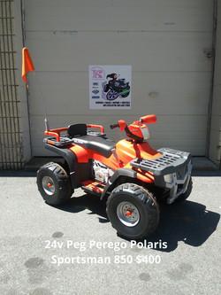 24v Peg Perego Polaris Sportsman 850