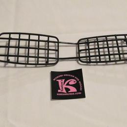 Headlight guard, rectangular