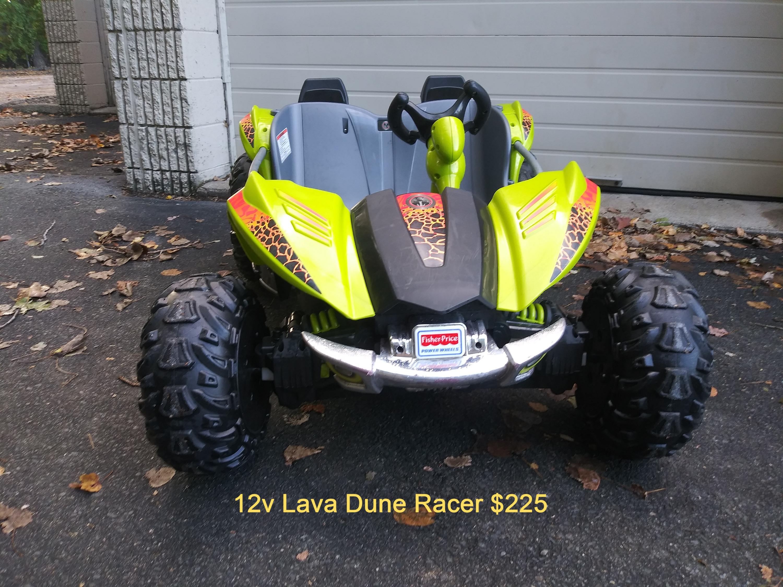 12V LAVA Dune Racer