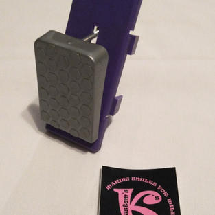 Foot Pedal Assembly, Purple
