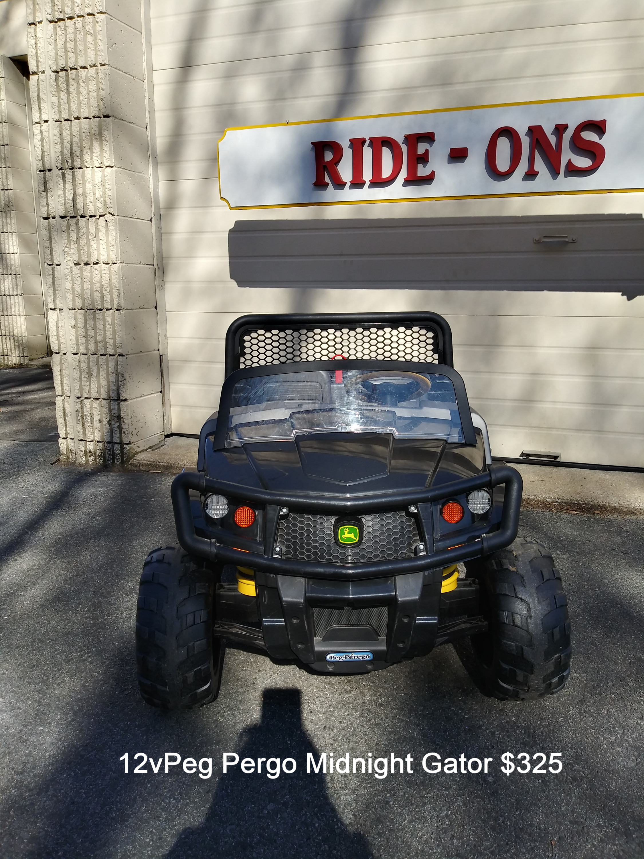 12v Peg Perego Midnight Gator $325