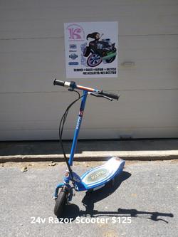 24v Razor Scooter