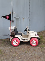custom ride-on jeep kids car wounded worrior project