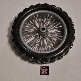 Tire, Rear, KX 125 Kawasaki Dirt Bike.jp