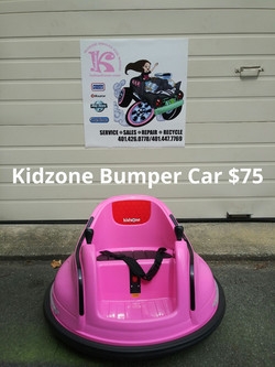 Kidzone Bumper Car