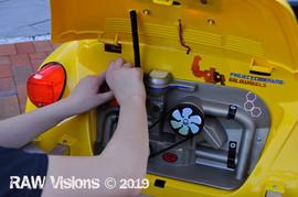 Engine of the replica Transformer Bumblebee
