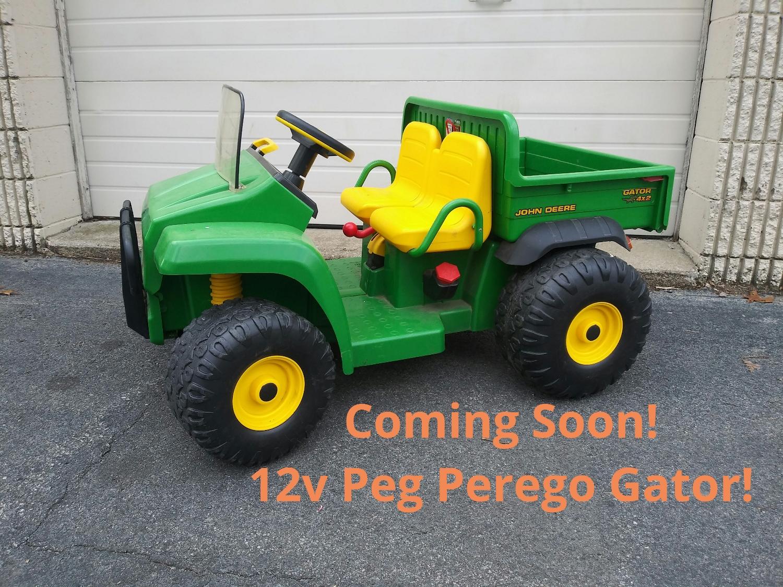 12v Peg Perego John Deere Gator