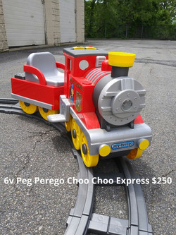 6v Peg Perego Choo Choo Express