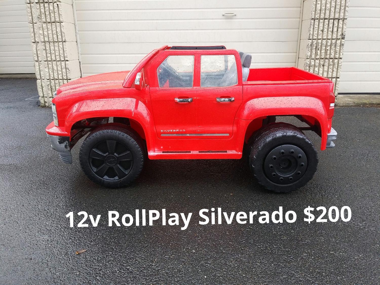 12v Rollplay Silverado