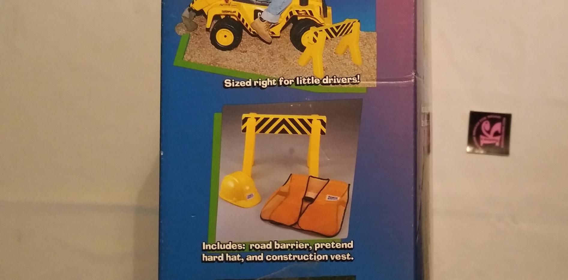 Power Wheels Construction Site