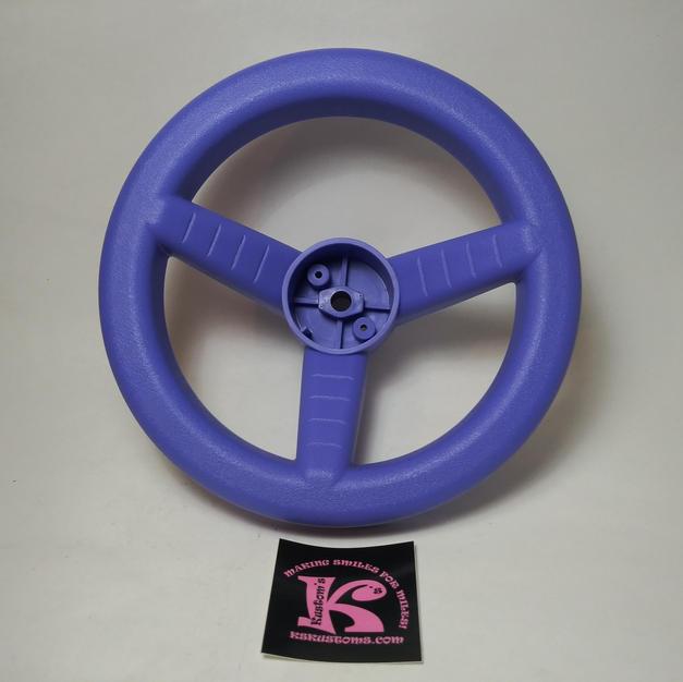 76960-2379 Steering Wheel Purple