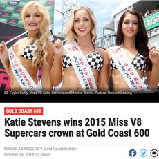 Miss V8 Supercars Crown