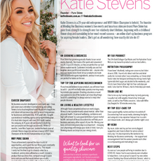 Strong Fitness Magazine Interview