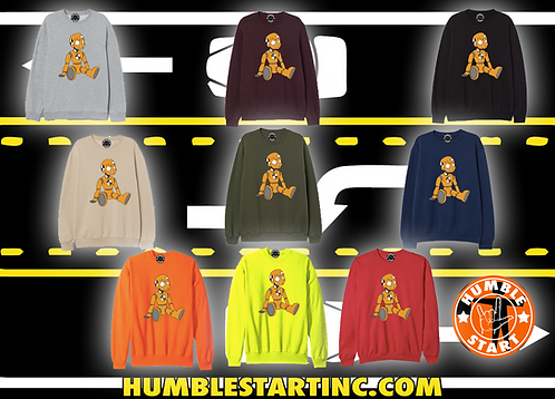 "Humble Start ""Crash Dummy"" Sweat Shirt"