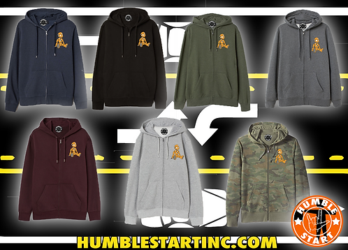 "Humble Start ""Crash Dummy"" Zip Jacket"