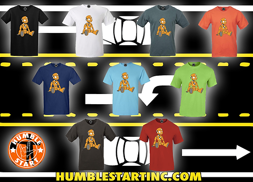 "Humble Start ""Crash Dummy"" T-Shirts"
