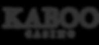 kaboo casino logo, kaboo casino, kaboo casino review