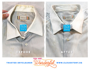 Dry Cleaner's life: a case on Sweat Stain andMold /Mildew removal