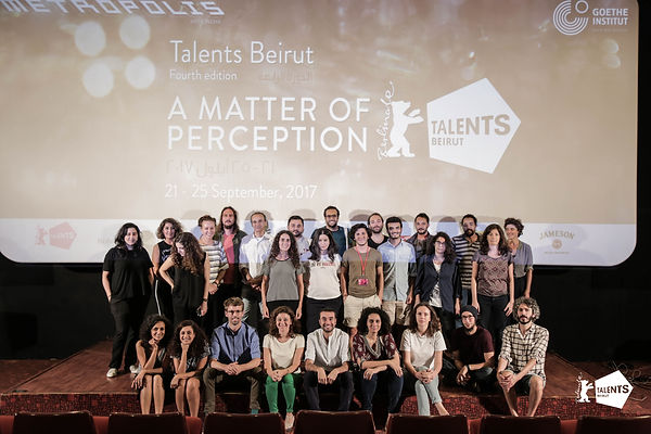 The participants and experts of Talents