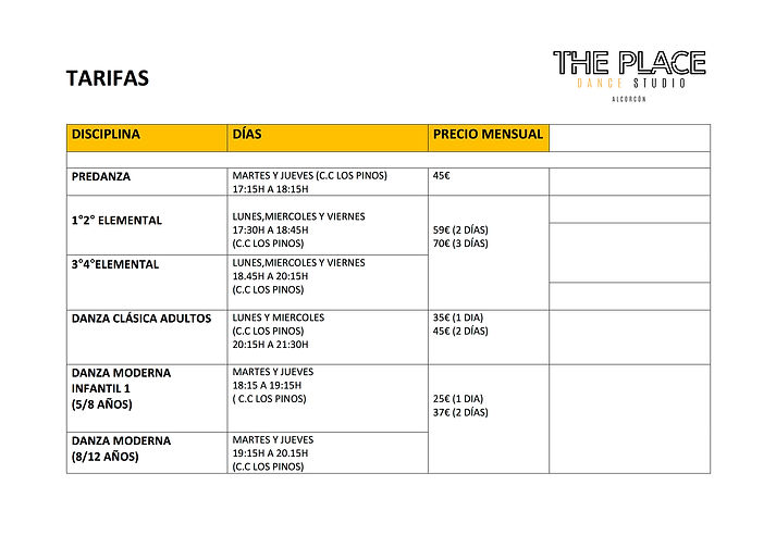 4 Horarios The Place Alcorcon.jpg