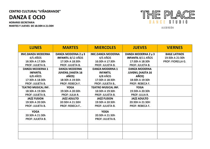 3 Horarios The Place Alcorcon.jpg