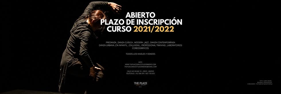 ABIERTO PLAZO DE MATRICULACIÓN CURSO 202
