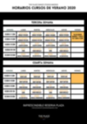 3-4 vertical Horarios y tarifas cursos d