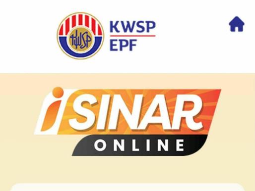i-sinar KWSP now open for application