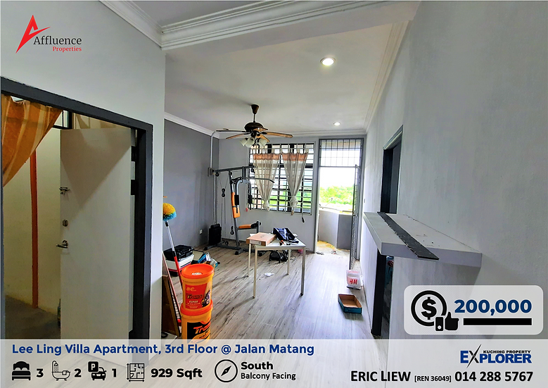 Lee Ling Villa Apartment at Jalan Matang