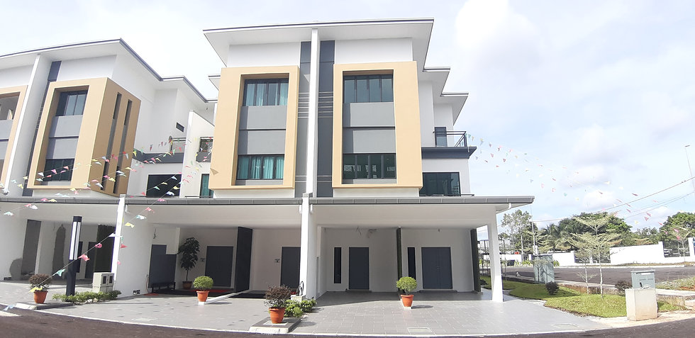 Bucida Residence Town House at Jln Kuap, 10th Mile