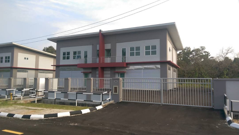 Batu Kawa 2 Storey Semi Detached Industrial Building at Jln Chong Jin Chong