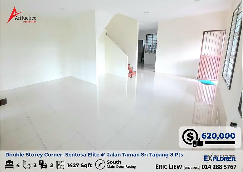 Double Storey Terrace Corner at Sentosa Elite at Jalan Taman Sri Tapang