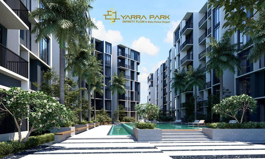 Yarra Park Apartment at Batu Kawa