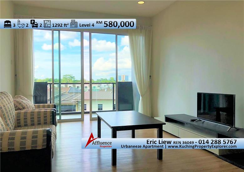 Urbaneeze Apartment at 6th Mile, Jalan Ketek