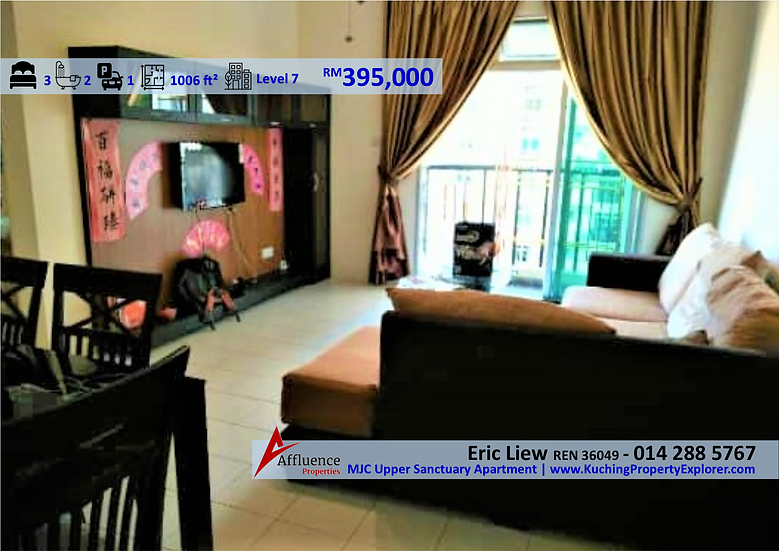 MJC Upper Sanctuary Apartment at Level 7 at Batu Kawa