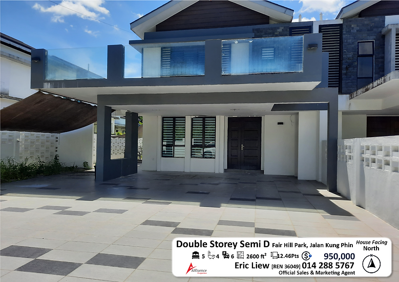 Double Storey Semi Detached House at Jalan Kung Phin