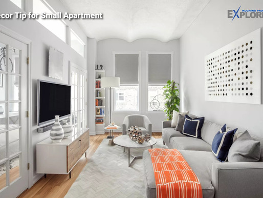 Decorate Tip for Small Apartment - Living Room