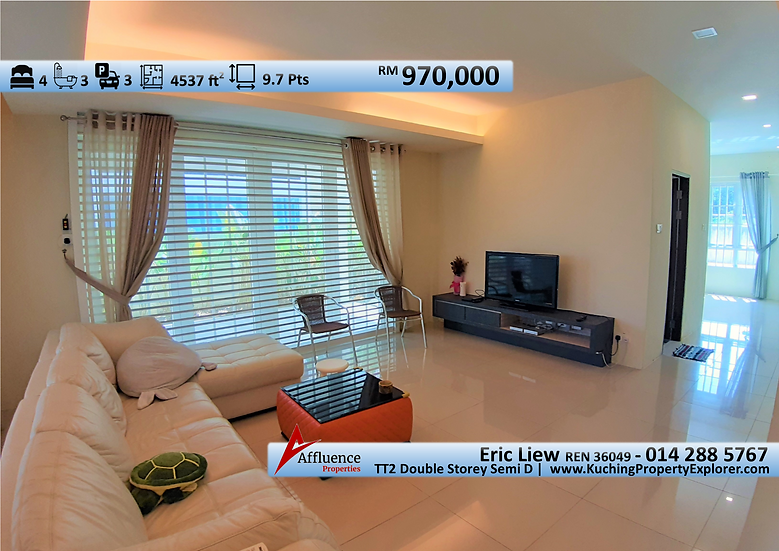 Tabuan Tranquility Double Storey Semi Detached