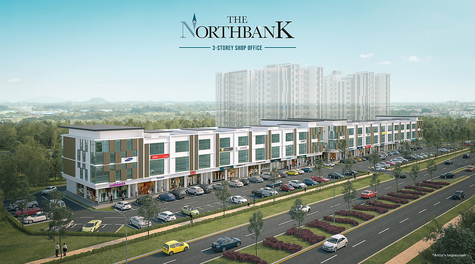 3 Storey Shop Office at The NorthBank - Phase 1