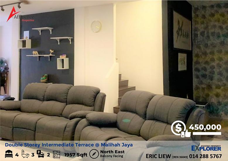 Malihah Jaya Double Storey Intermediate Terrace House