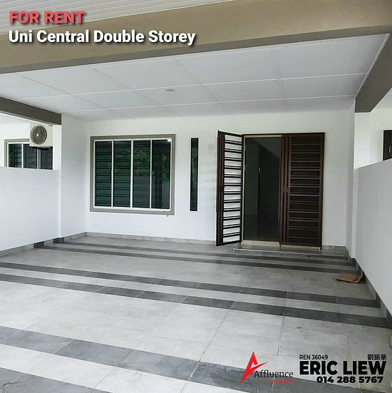 Double Storey Intermediate Terrace at Kota Samarahan For Rent