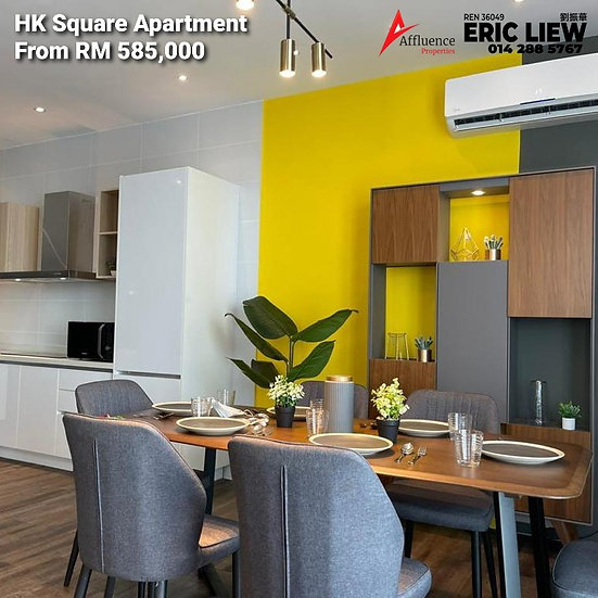 HK Square Serviced Apartment at Jalan Stapok Utama
