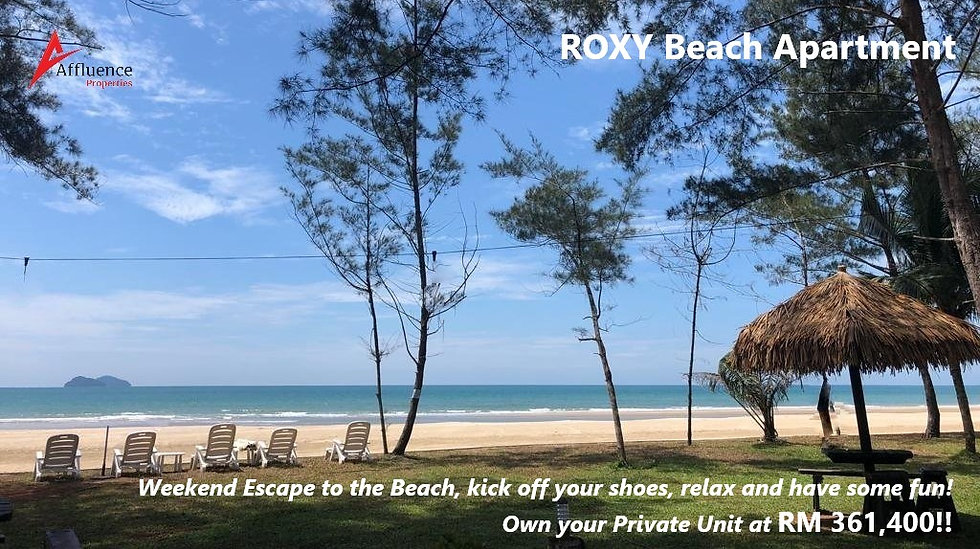 Roxy Beach Apartment at Samatan