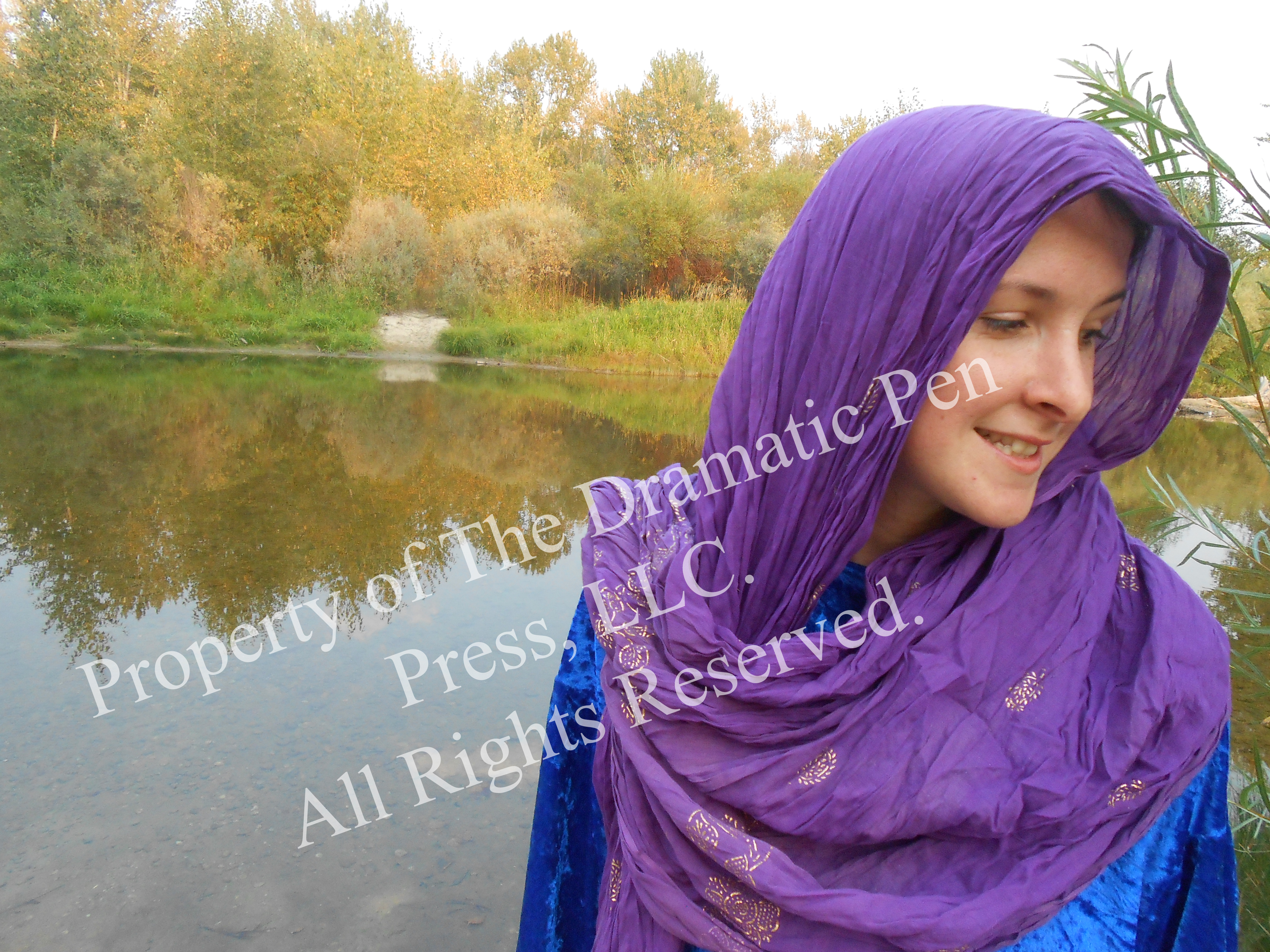 Bblical Woman by River Smiles