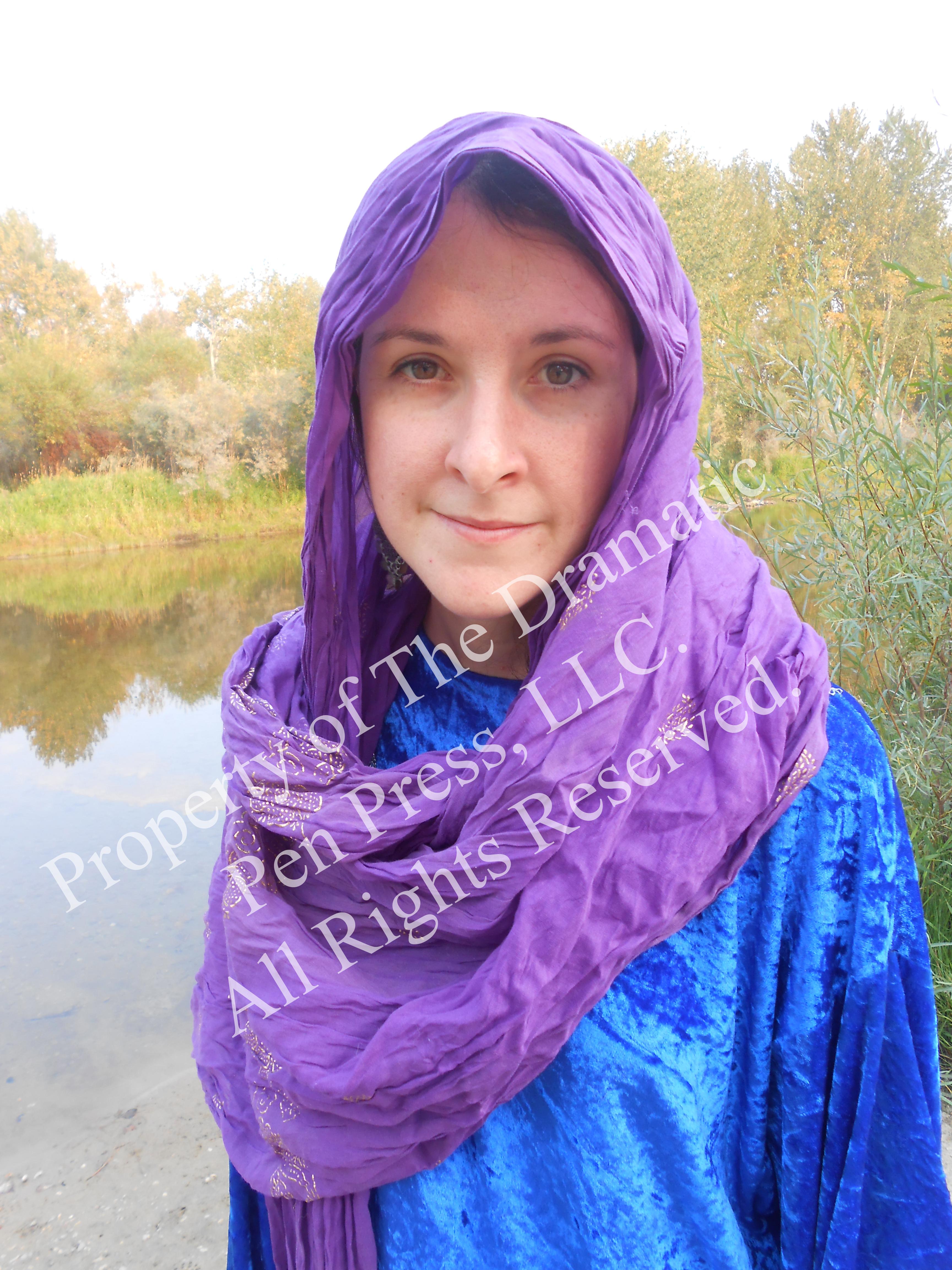 Biblical Woman Soft Smile